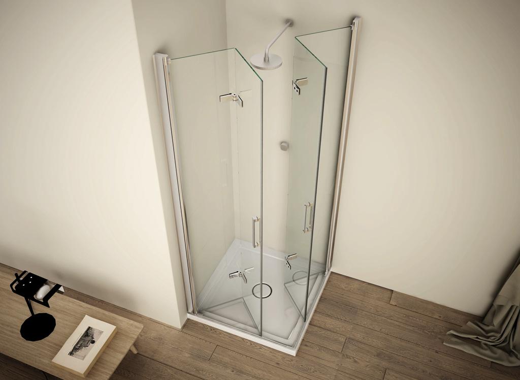 Rainbox box cristallo piatto doccia fhabceramiche - Ikea bagno doccia ...
